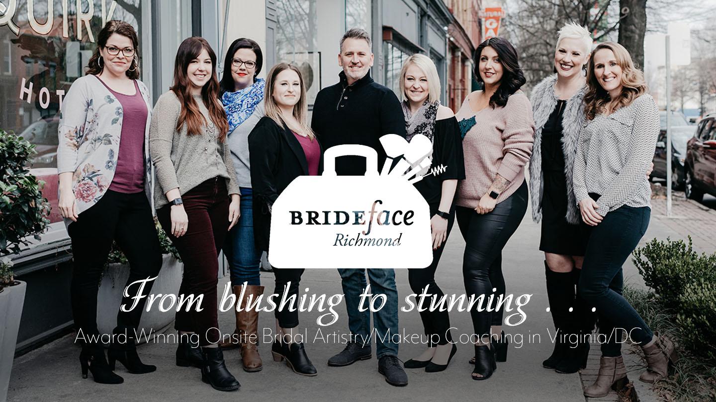 BRIDEface Richmond   Award-Winning Onsite Bridal Artistry